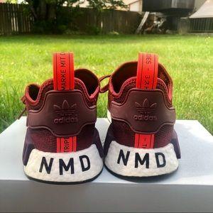 maroon NMD'S
